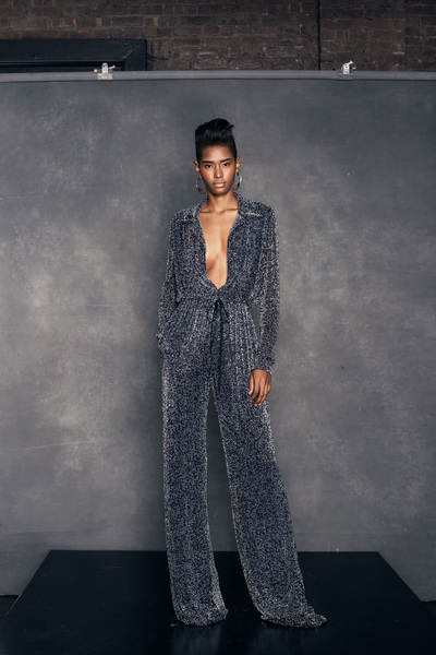 Naeem Khan Resort 2018 - Look #1