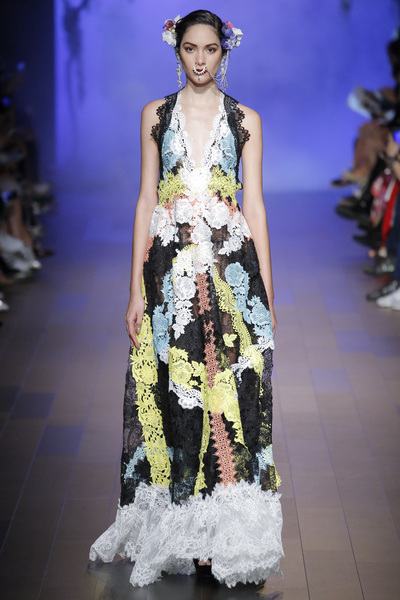 Naeem Khan Spring 2018 Ready-to-Wear - Look #15