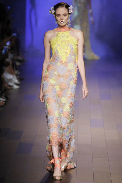 Naeem Khan Spring 2018 Ready-to-Wear - Look #22