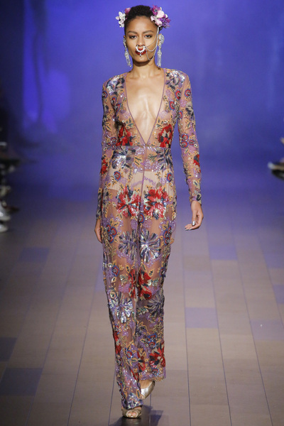 Naeem Khan Spring 2018 Ready-to-Wear - Look #33