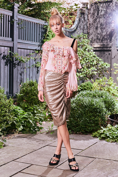 Nanette Lepore Spring 2018 Ready-to-Wear - Look #10