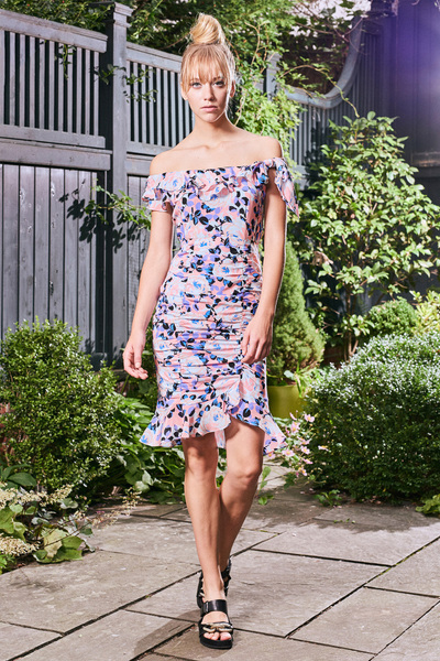 Nanette Lepore Spring 2018 Ready-to-Wear - Look #5