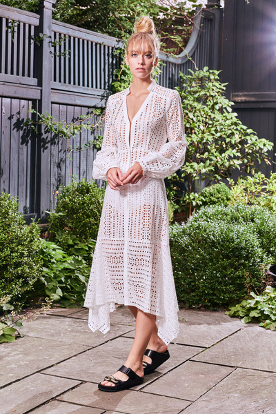 Nanette Lepore Spring 2018 Ready-to-Wear - Look #7