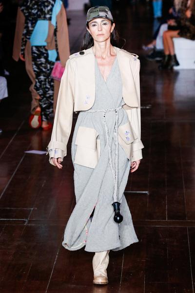 Natasha Zinko Spring 2018 Ready-to-Wear - Look #10