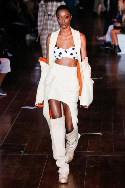 Natasha Zinko Spring 2018 Ready-to-Wear - Look #12