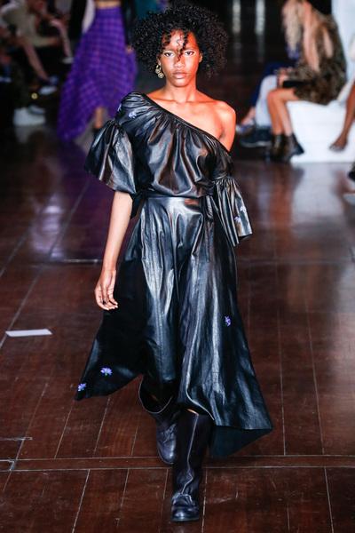 Natasha Zinko Spring 2018 Ready-to-Wear - Look #25