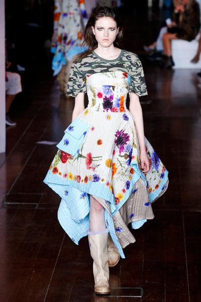 Natasha Zinko Spring 2018 Ready-to-Wear - Look #4