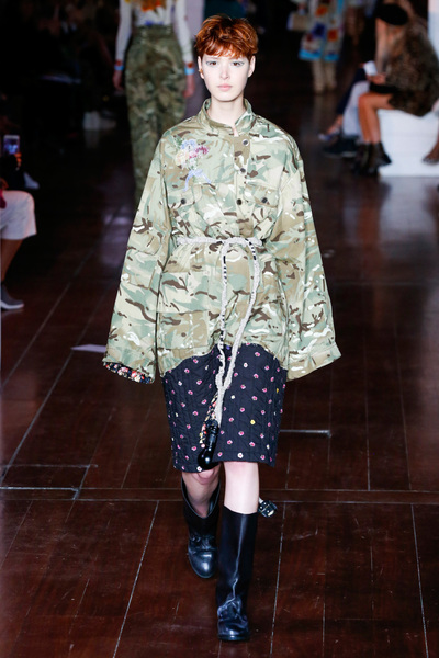 Natasha Zinko Spring 2018 Ready-to-Wear - Look #6