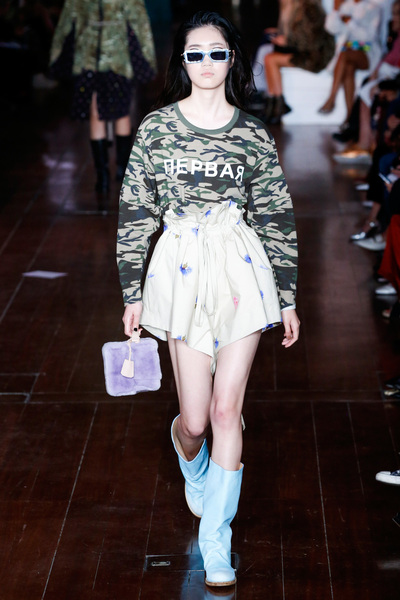 Natasha Zinko Spring 2018 Ready-to-Wear - Look #7