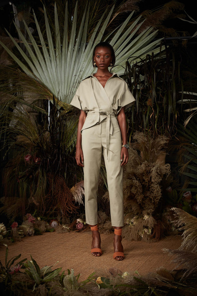 Nicole Miller Spring 2018 Ready-to-Wear - Look #2