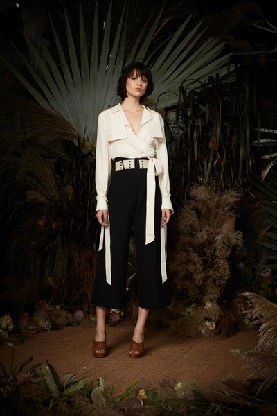 Nicole Miller Spring 2018 Ready-to-Wear - Look #21
