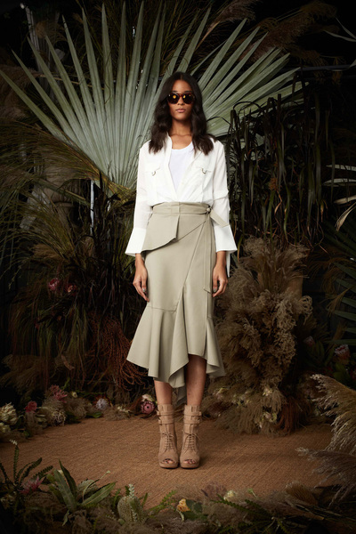 Nicole Miller Spring 2018 Ready-to-Wear - Look #4