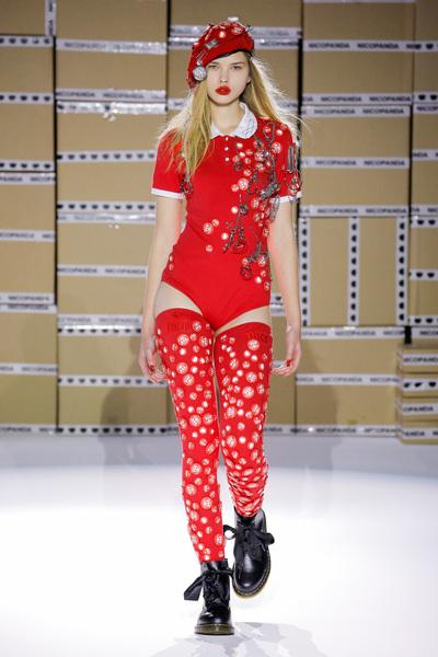 Nicopanda Spring 2018 Ready-to-Wear - Look #10