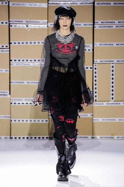 Nicopanda Spring 2018 Ready-to-Wear - Look #23