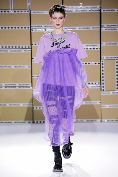Nicopanda Spring 2018 Ready-to-Wear - Look #24