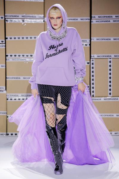 Nicopanda Spring 2018 Ready-to-Wear - Look #25
