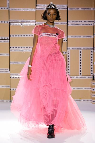 Nicopanda Spring 2018 Ready-to-Wear - Look #27