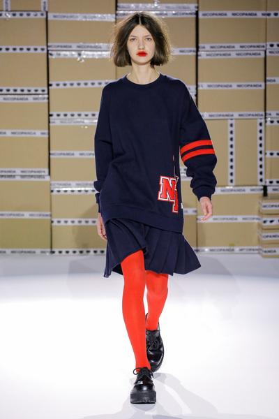Nicopanda Spring 2018 Ready-to-Wear - Look #7
