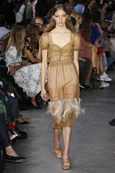 NO. 21 Spring 2018 Ready-to-Wear - Look #19