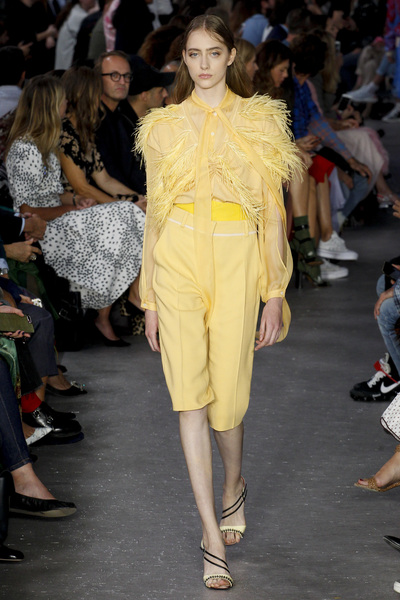 NO. 21 Spring 2018 Ready-to-Wear - Look #27