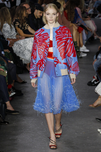 NO. 21 Spring 2018 Ready-to-Wear - Look #28