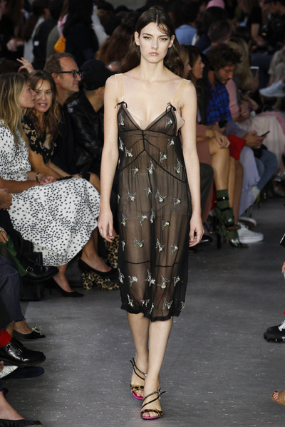 NO. 21 Spring 2018 Ready-to-Wear - Look #40