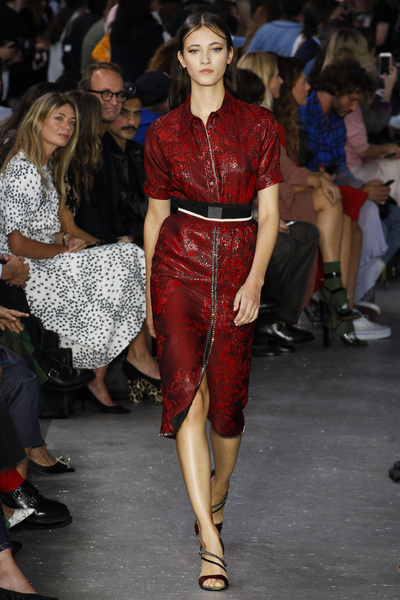 NO. 21 Spring 2018 Ready-to-Wear - Look #43