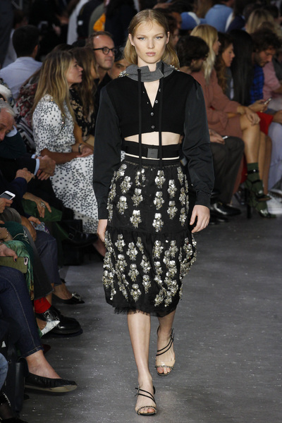 NO. 21 Spring 2018 Ready-to-Wear - Look #45