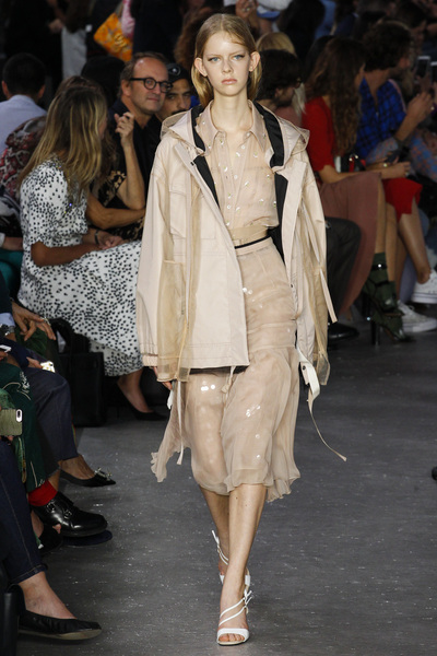 NO. 21 Spring 2018 Ready-to-Wear - Look #5
