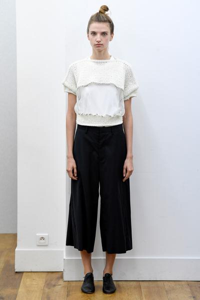 Noir Kei Ninomiya Spring 2018 Ready-to-Wear - Look #19