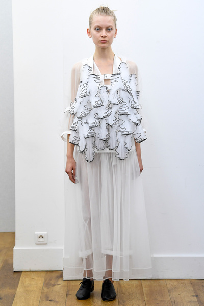 Noir Kei Ninomiya Spring 2018 Ready-to-Wear - Look #2
