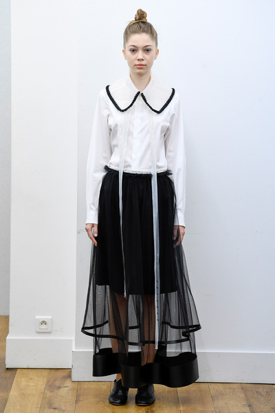 Noir Kei Ninomiya Spring 2018 Ready-to-Wear - Look #6