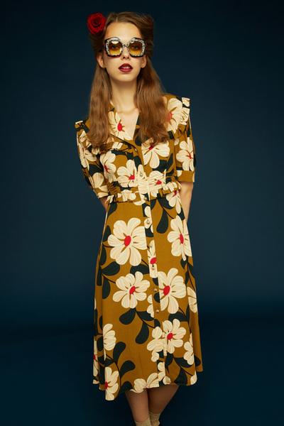 Orla Kiely Spring 2018 Ready-to-Wear - Look #1