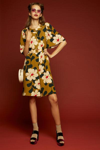 Orla Kiely Spring 2018 Ready-to-Wear - Look #27