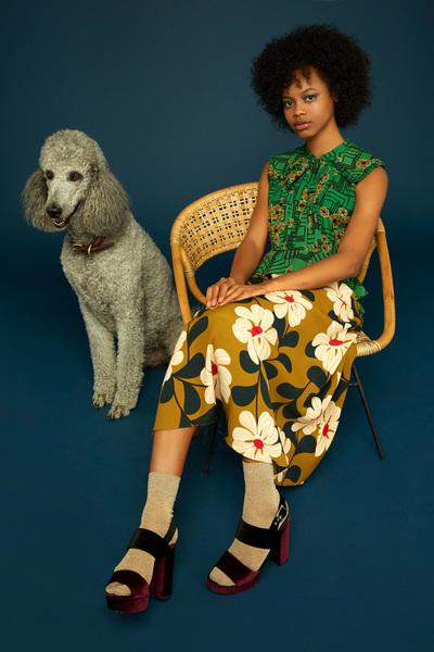 Orla Kiely Spring 2018 Ready-to-Wear - Look #4