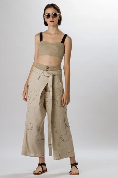 Osklen Spring 2018 Ready-to-Wear - Look #10