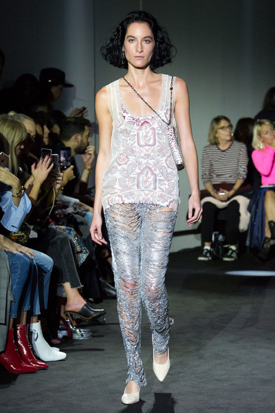 Paco Rabanne Spring 2018 Ready-to-Wear - Look #19