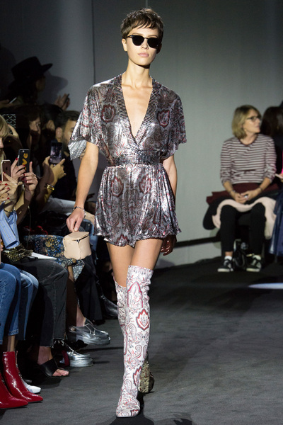 Paco Rabanne Spring 2018 Ready-to-Wear - Look #9