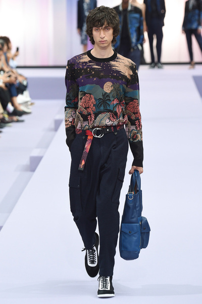 Paul Smith Spring 2018 Ready-to-Wear - Look #17
