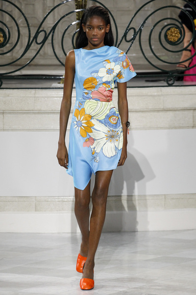 Peter Pilotto Spring 2018 Ready-to-Wear - Look #17