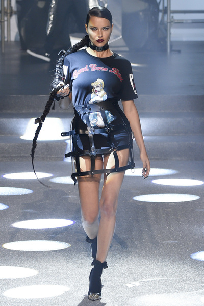 Philipp Plein Spring 2018 Ready-to-Wear - Look #1