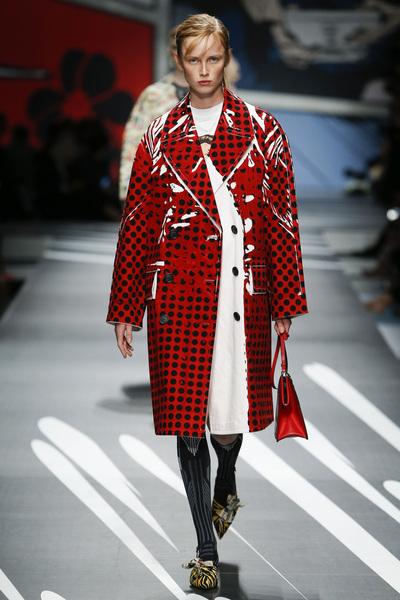 Prada Spring 2018 Ready-to-Wear - Look #36