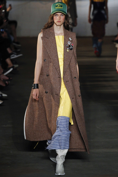 R13 Spring 2018 Ready-to-Wear - Look #14