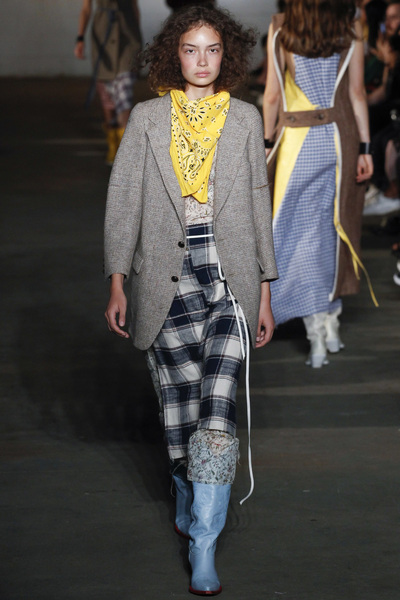 R13 Spring 2018 Ready-to-Wear - Look #15