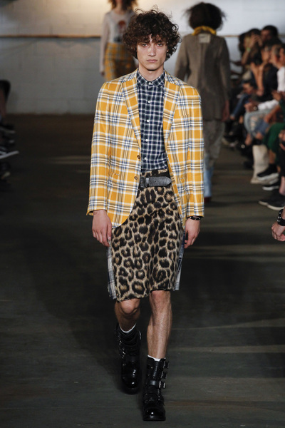 R13 Spring 2018 Ready-to-Wear - Look #17