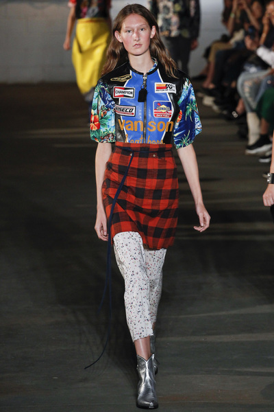 R13 Spring 2018 Ready-to-Wear - Look #23