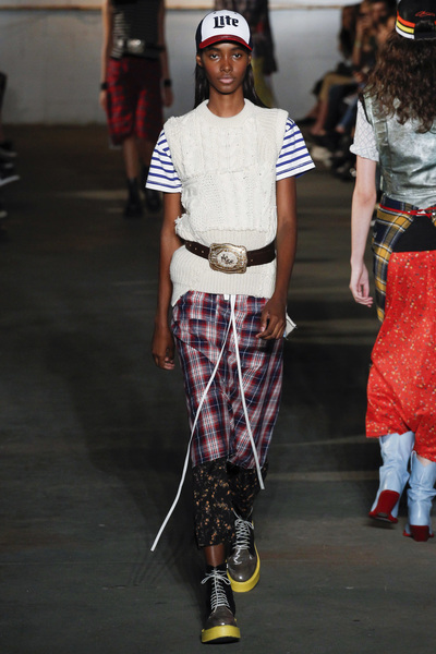 R13 Spring 2018 Ready-to-Wear - Look #27