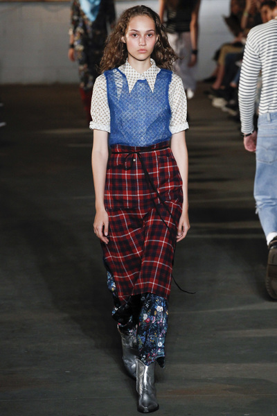 R13 Spring 2018 Ready-to-Wear - Look #30