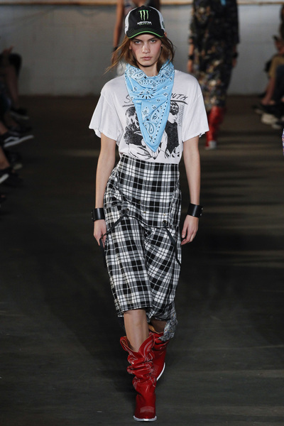 R13 Spring 2018 Ready-to-Wear - Look #33