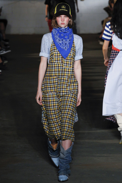 R13 Spring 2018 Ready-to-Wear - Look #4
